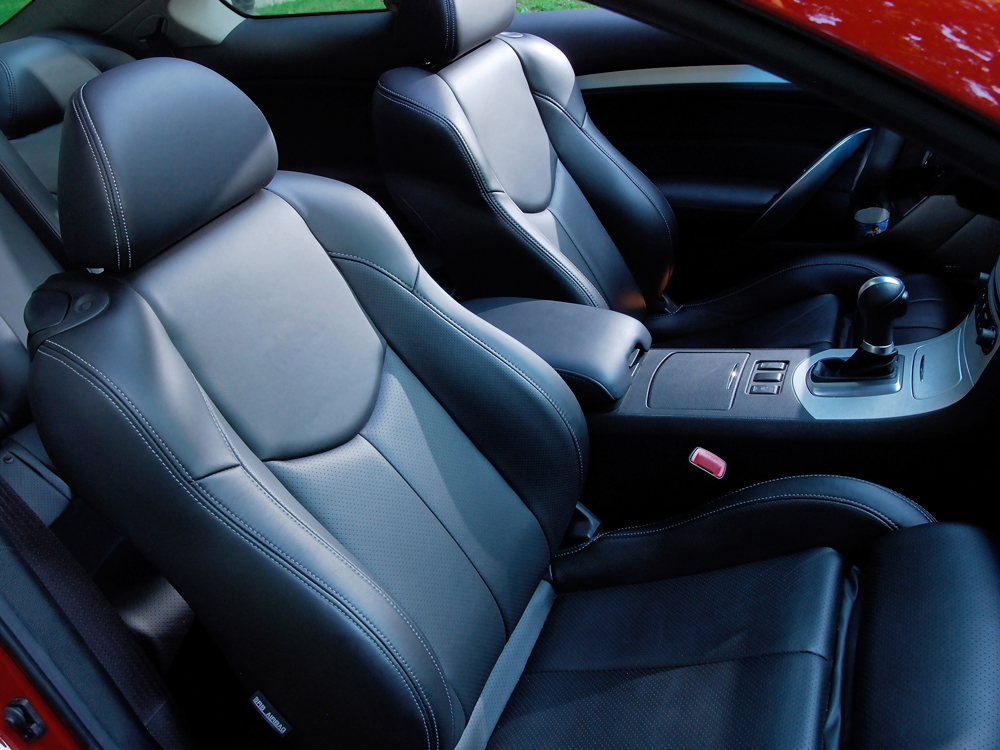 Leather Car Upholstery cleaning and maintenance tips.